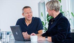 Møte - Torgeir Spets og Hege Myrdal Engebretsen
