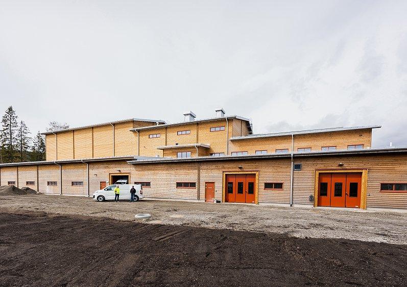 Referanseprosjekt   Det nye vannverket på Lillehammer er kanskje byens viktigste bygning   GK