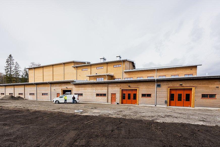 Referanseprosjekt | Det nye vannverket på Lillehammer er kanskje byens viktigste bygning | GK