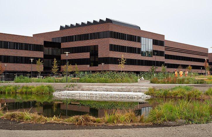 Veterinærbygget Campus Ås Foto: Statsbygg/Trond Isaksen