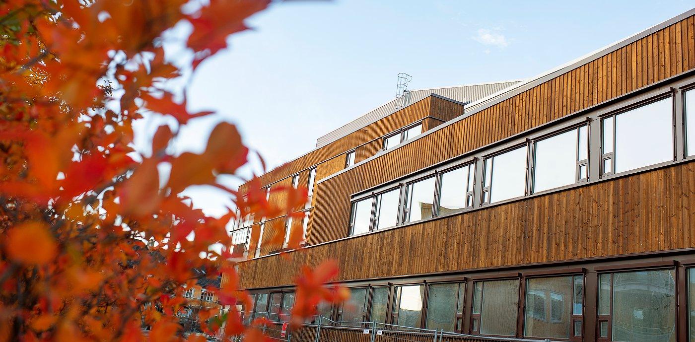 GK i Trondheim har levert totalteknisk entreprise til Stjørdal Helsehus. Et prosjekt vi skal være stolt av og kan kalle et signalbygg.