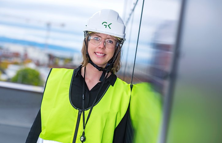 Astrid Aarstrand er Prosjektingeniør i GK