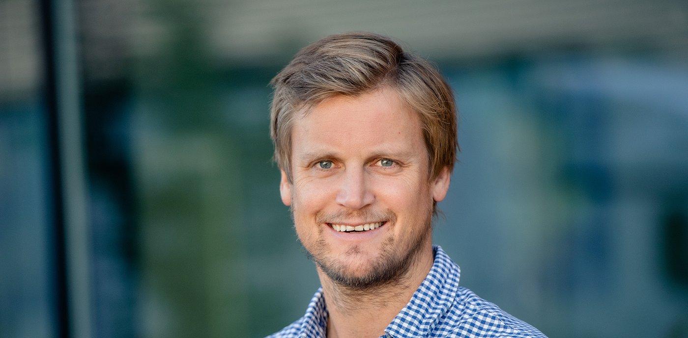 Stian Orvedal, administrerende direktør, GK Rør