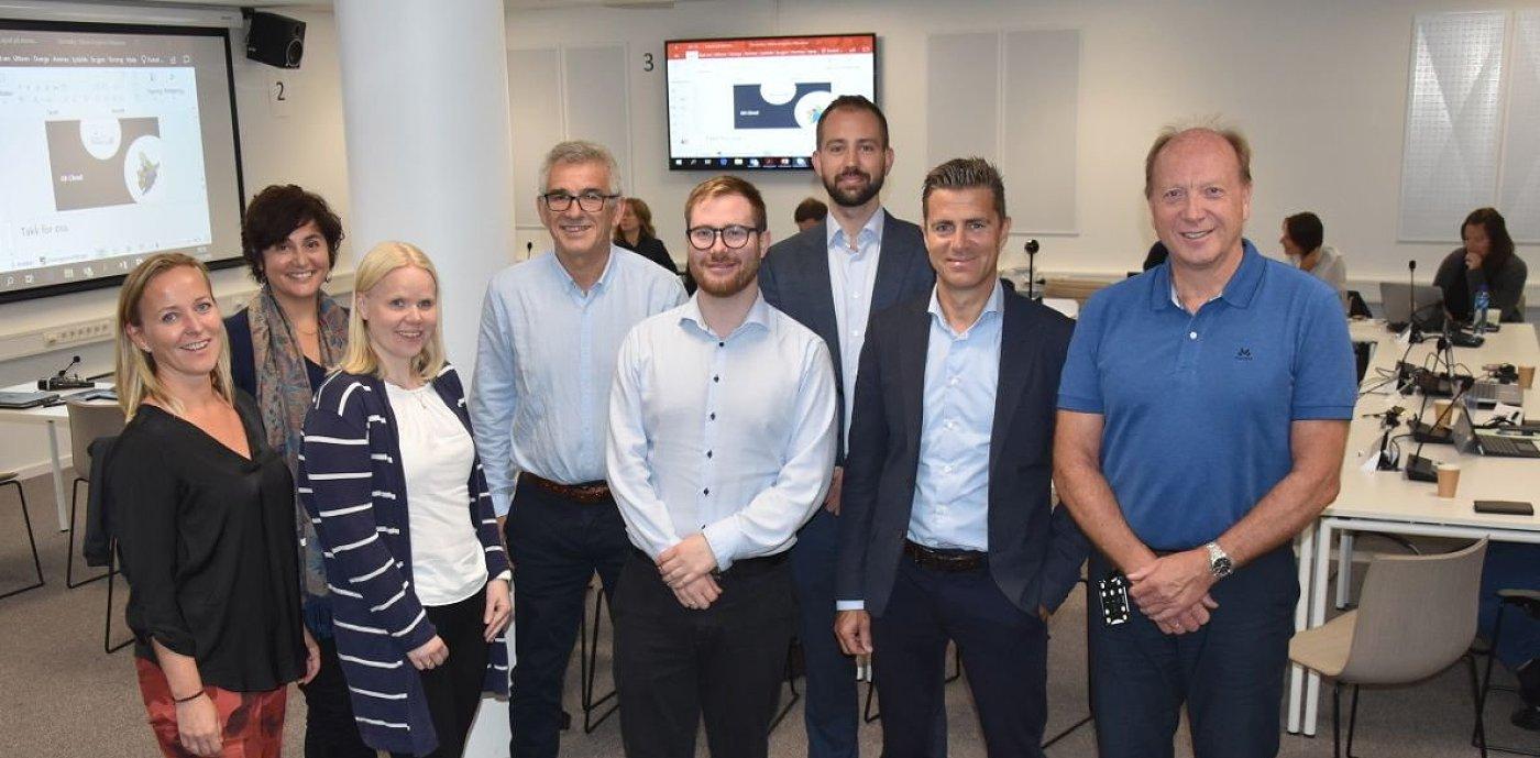 Bergen kommune har inngått partnerskap med GK og MazeMap: bilde av deltakere