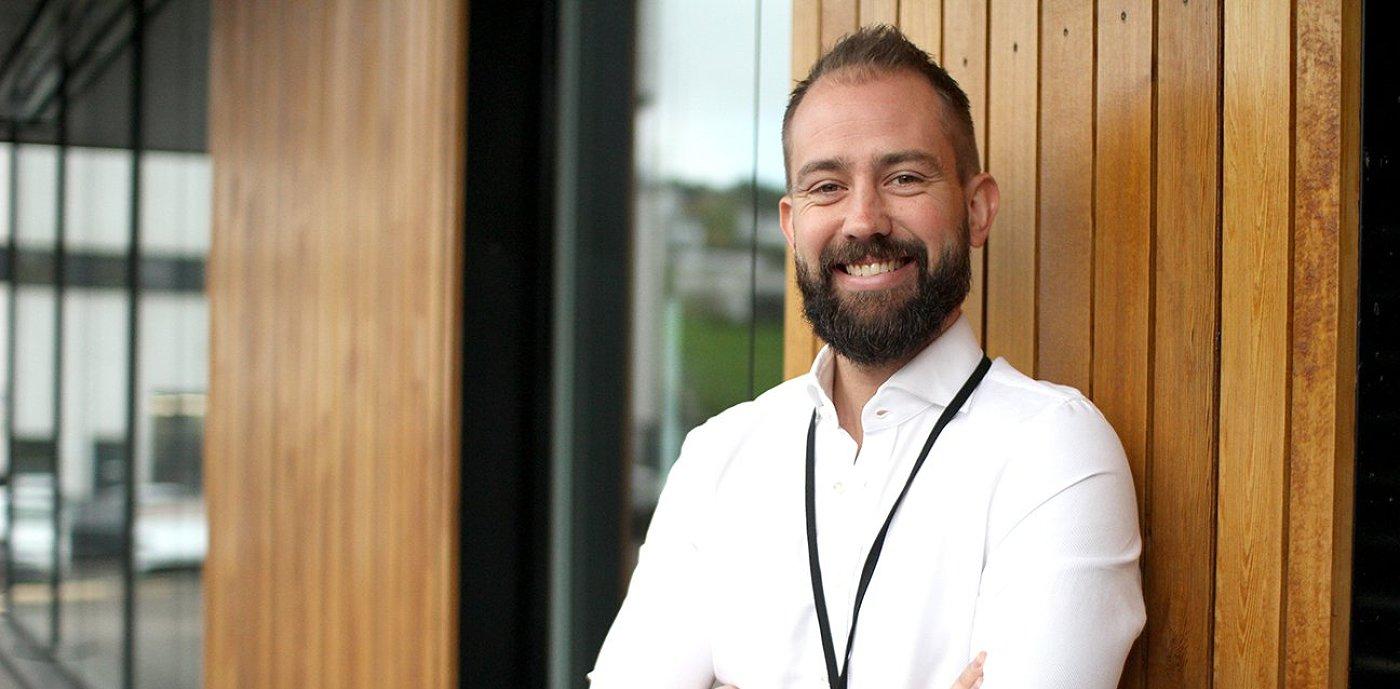 Thomas Melheim er prosjektutvikler for Byggautomasjon i GK