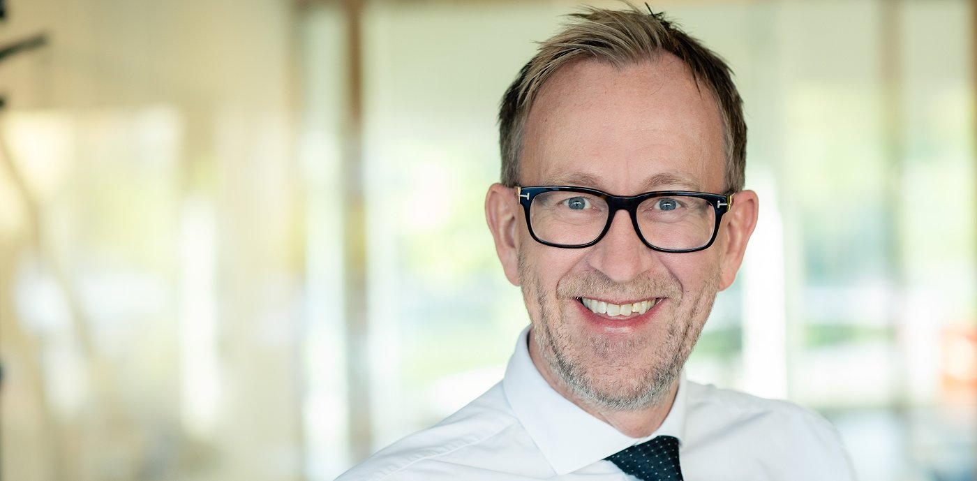 Kim Robert Lisø, konsernsjef i GK