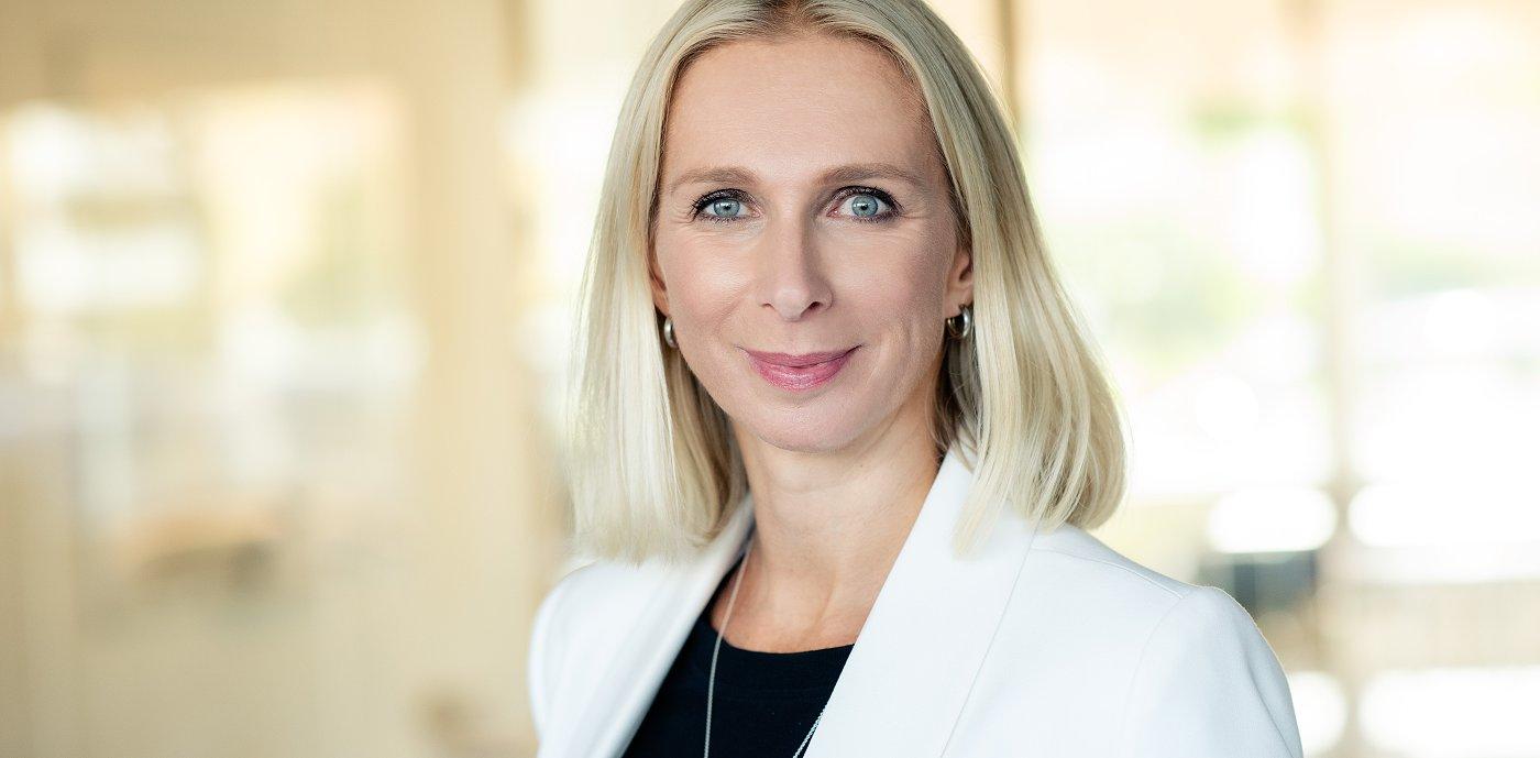 Portrett Guro Steine, direktør kommunikasjon og bærekraft, GK Gruppen
