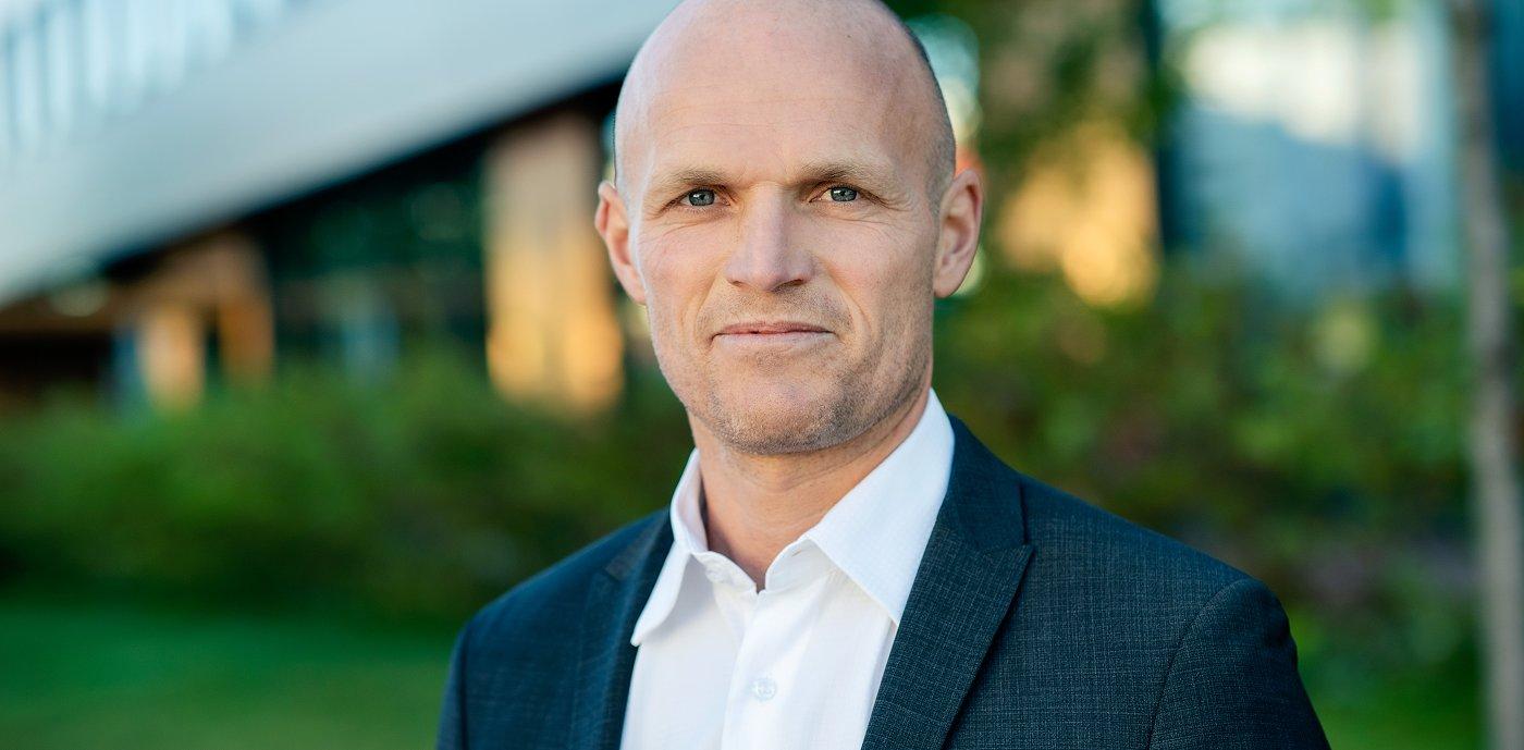 Rune Hardersen, administrerende direktør i GK Norge