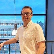 Knut Arne Finsmyr jobber som forretningsutvikler for digitale tjenester i GKs forretningsområde Byggautomasjon i Trondheim