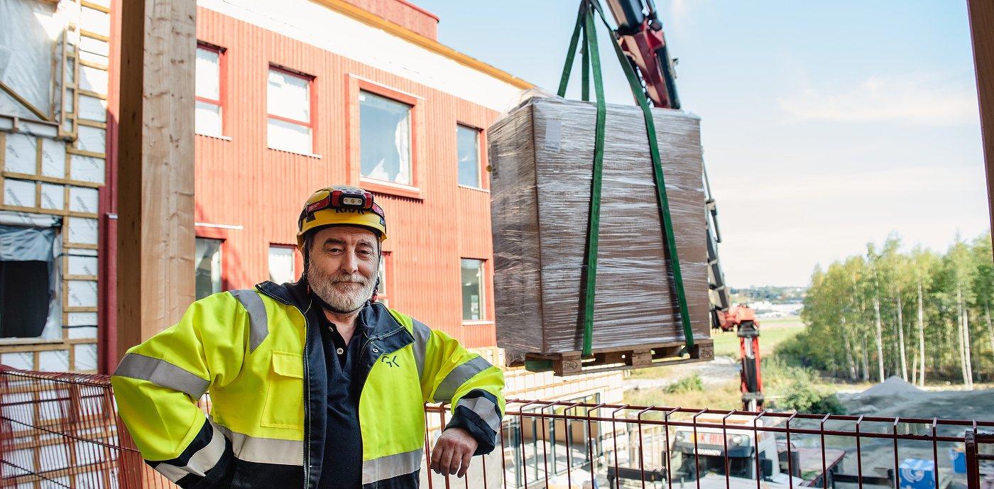 Ole-Jonny Elshaug, prosjektleder, Romerike Entreprise