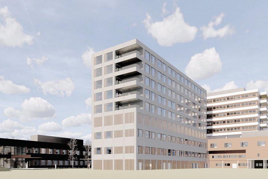 Livabygget ved Førde sentralsykehus
