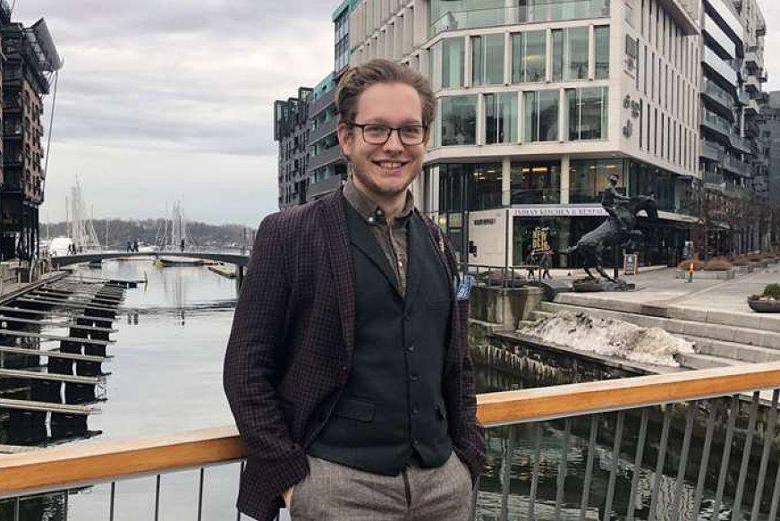 Ole Marius Svendsen ved Energi og miljø ved OsloMet