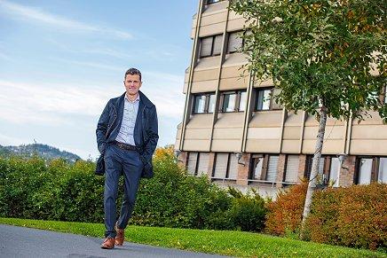 Per Arve Ekle, divisjonsdirektør for Byggautomasjon i GK
